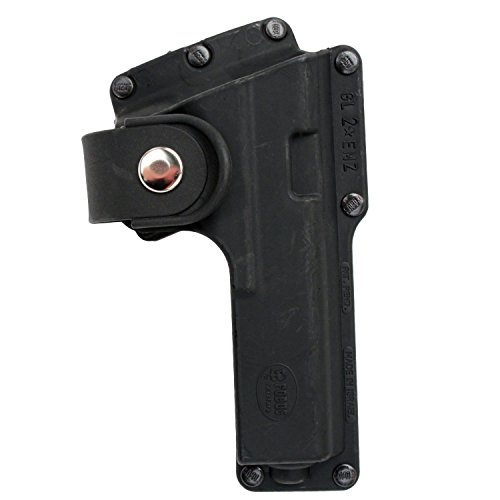 Fobus Roto Tactical Speed Holster Belt RH GLT19RB Glock 19,23,32 / S&W 99 Compact/ M&P Compact holds Handgun with Laser or Light