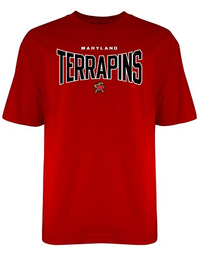 Old Varsity Brand NCAA Maryland Terrapins Men's Everlasting Tee, Large, Red