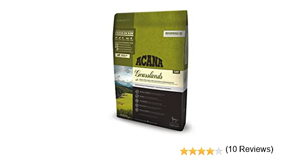 Acana Grasslands - Comida para Gatos, 1800 gr: Amazon.es: Productos para mascotas