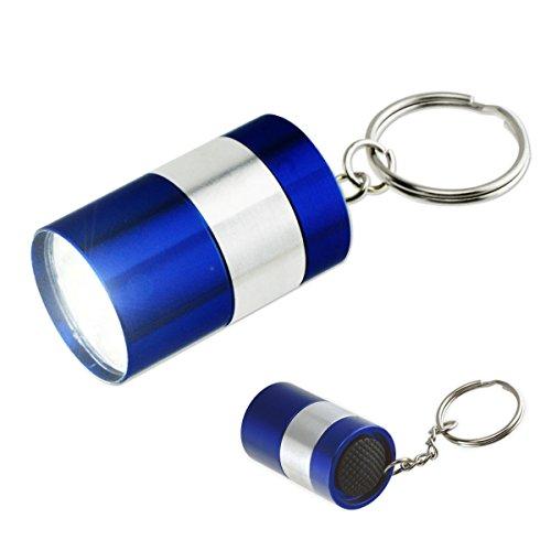 Super-Compact LED Flashlight Keychain - 9 Super-Bright LED