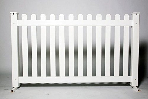 SignaturePanel 102532 Picket Fence Panel44; 42 in. x 6 ft.