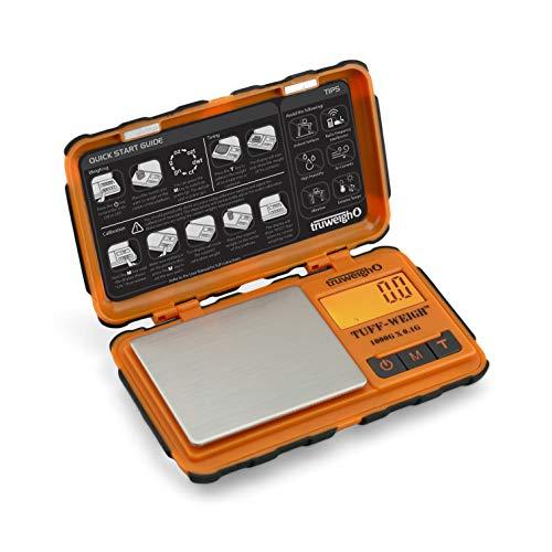 TUFF-WEIGH Digital Mini Scale 1000g x 0.1g Orange / Black ()