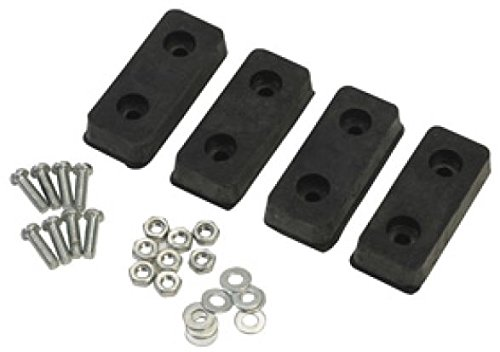 Warner Tool 10296 - Step-Up Bench Rubber Foot Pad Kit - Drywall Stepladder Bench