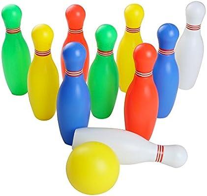 ac9bb32b0246d yoptote Bowling Kegelspiel Set Kegeln Boule-Spiel Interaktive ...