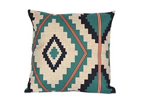 Tribal azteca manta fundas de almohada decorativo fundas de ...