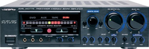 Amplifier w/ DSP Reverb (600w Karaoke Mixing Amplifier)