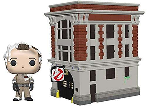 Funko 39454 Pop Town Ghostbusters-Peter with House Collectible Figure, Multicolor