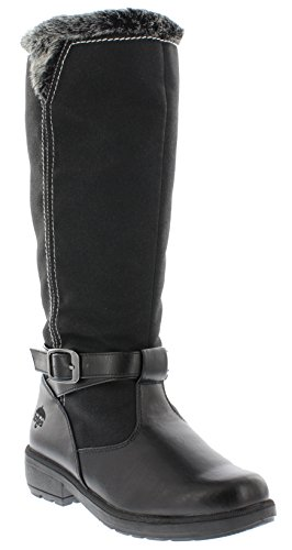 totes Esther Womens Snow Boot Black