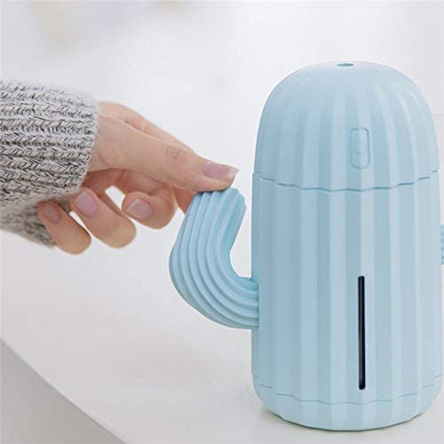VCB Humidificador de Aire portátil Mute Desktop Mini Cargador de Aire purificador de Aire - Azul: Amazon.es: Hogar
