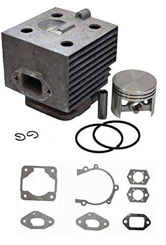 (RA Cylinder Kit +Gasket Fit Stihl BR420 BR400 SR420 SR400 Rep 42030201201)