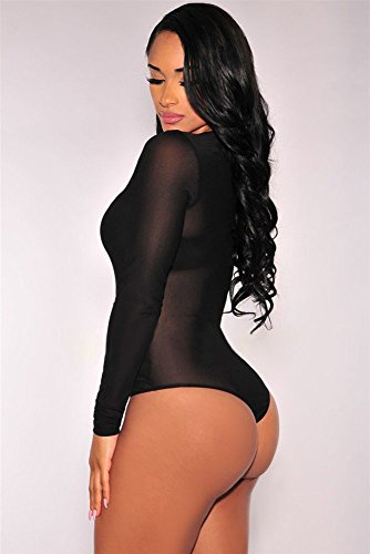Miss Chica's - Body - para mujer negro