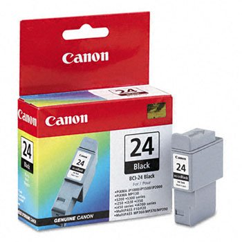 Canon Black Ip1500 Printer Cartridge - Canon BCI-24BK Compatible Black Ink Cartridge