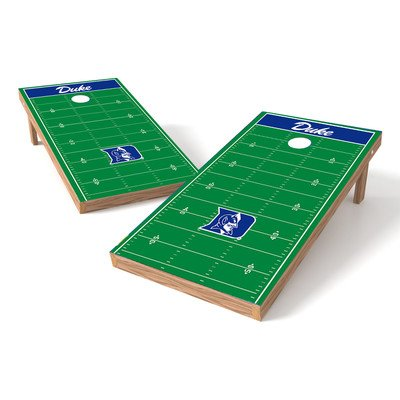 Wild Sports NCAA 2 x 4 Football Field Authentic Cornhole Game Set