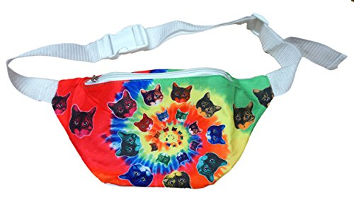 [Funny Guy Mugs Cat Fanny Pack - 3D Cat] (Edc Costumes Men)