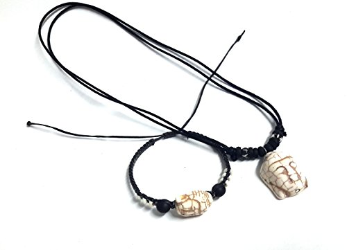 Necklace-and-Bracelet-buddha-Lucky-Color-Hawaiian-buddha-Hemp