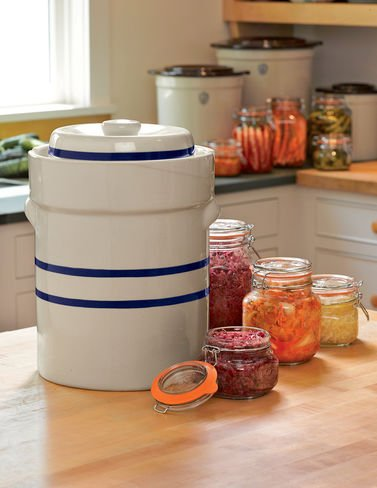 Ohio Stoneware 3 Gallon Fermentation/Preserving Crock Set - Great for Pickling and Sauerkraut!! by OHIO STONEWARE (Image #3)