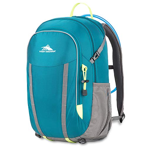f6bad43adc High Sierra HydraHike 24L Hydration Backpack, Lagoon/Slate/Zest