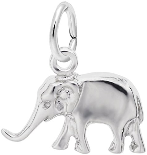 Rembrandt Elephant Charm (Rembrandt Small Elephant Charm - Metal - Sterling Silver)