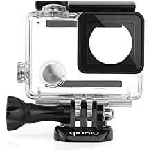 Waterproof Dive Housing Case for GoPro Hero 4, GoPro Hero 3 and GoPro Hero 3+ Action Camera - Up to 40 Meters (131 feet) Underwater -Transparent Clear