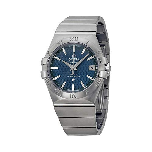 Omega Constellation Co-Axial Automatic Blue Dial Stainless Steel Watch - Omega Constellation Coaxial