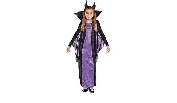 Disfraz de Maléfica para Halloween para niña, Bella Durmiente ...