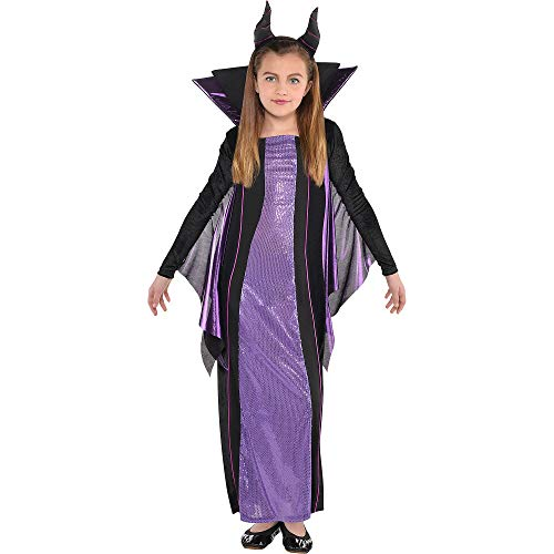 Suit Yourself Maleficent Halloween Costume for Girls, Sleeping Beauty, Extra Large, Includes Accessories -