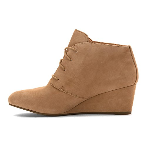 elevate up lace Light Becca wedge Vionic Tan donna FPwqcZ