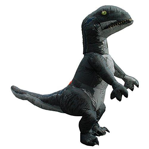 Kooy Adult Velociraptor T-Rex TREX Dinosaur Inflatable Costume Cosplay Halloween