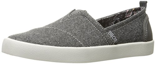 Skechers BOBS Women's Bobs-b Love Flat, Charcoal, 5.5 M US by Skechers (Image #9)'