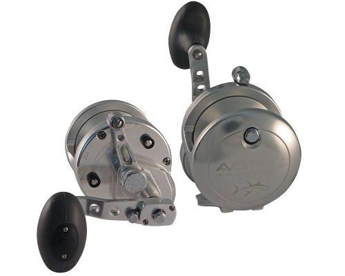 Avet JX6/3 Two Speed Reel - Silver - Left Handed (Two Speed Reels)
