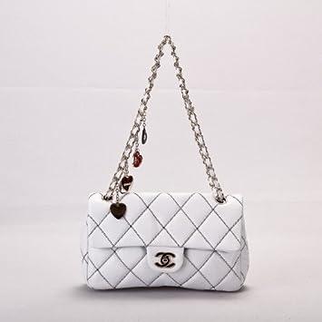 980b4d69e4c1a7 Chanel Handbag. Genuine 100% Chanel Handbag Real Lambskin: Amazon.co.uk:  Luggage