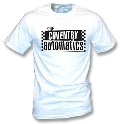 TshirtGrill Das T-Shirt Coventrys Automatics (die Specials), Farbe- Weiß