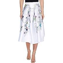 Ted Baker Womens Petale Passion Flower Full Skirt