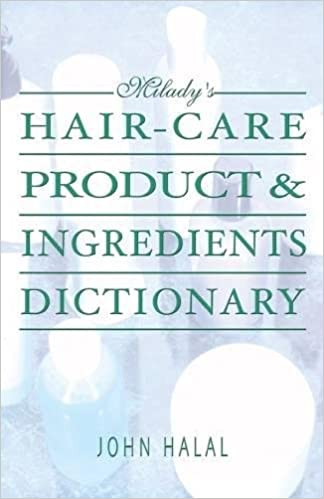 Hair care product and ingredients dictionary miladys hair care hair care product and ingredients dictionary miladys hair care product ingredients dictionary john halal 9781562539191 amazon books fandeluxe Images