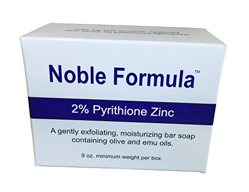 Noble Formula 2% Pyrithione Zinc (ZnP) Original Bar Soap, 3 oz each (12 Pack) by Noble Formula