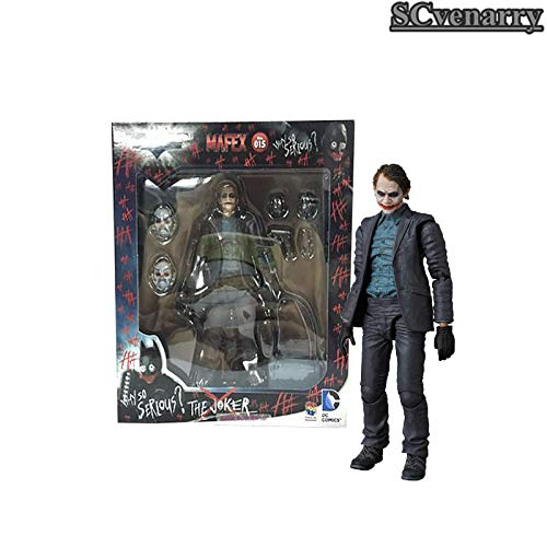 VIET FG The Dark Night The Joker PVC Collectible Batman Figure Model Toy 15cm - Gift for Your Kids]()