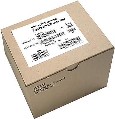 5-Pack HPE LTO 6 Ultrium C7976A (2.5TB/6.25 TB) Data Cartridge by HPE
