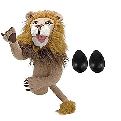 Amazon Com Melissa And Doug Lion Puppet Music Performance