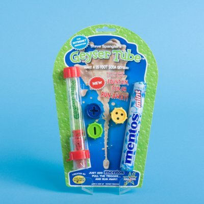 - LearningLAB Geyser Tube (Blister Card Packaging with Mentos & Caps)