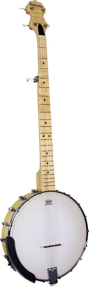 Ashbury AB-255 Maple 5 Saiten Banjo California-5