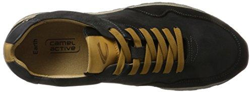 Cammello Attivo Herren Earth 11 Sneaker Schwarz (nero)