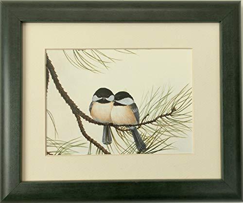 Audubon Chickadee Wildlife Bird Print 8 X 10 Wall Decor