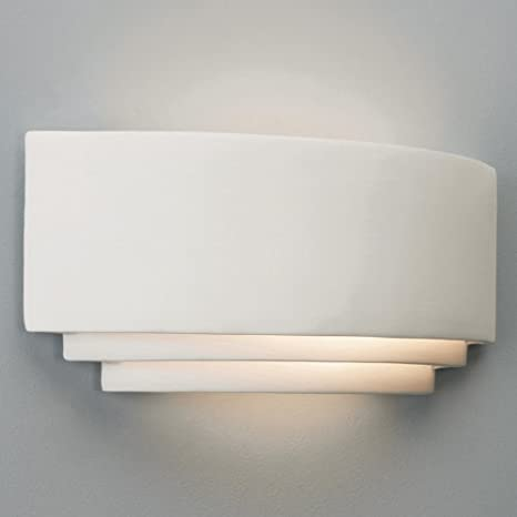 29b7b7cf3dfd Astro 0423 Amalfi Wall Light Natural Ceramic: Amazon.co.uk: Lighting