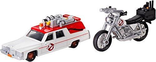 [해외]마텔 고스트버스터즈 1:64 다이캐스트 ECTO-1 및 ECTO-2 차량 / Ghostbusters 1:64 Diecast ECTO-1 and ECTO-2 Vehicles