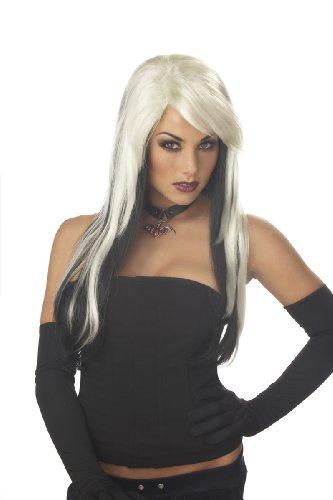 California Costumes Women's Vampire Vixen Wig,Blonde/Black,One Size ()