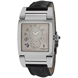 de GRISOGONO Instrumento No. Uno Mens Automatic 2nd Time Zone Watch