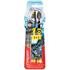 Best Epic Trends 41GOs4OajZL._SS300_ Colgate Oral Care Kids Toothbrush Ages 6+ (2 units), Assorted Model