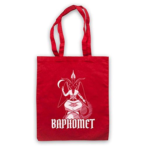 Baphomet Occult Sabbatic Goat Deity Bolso Rojo