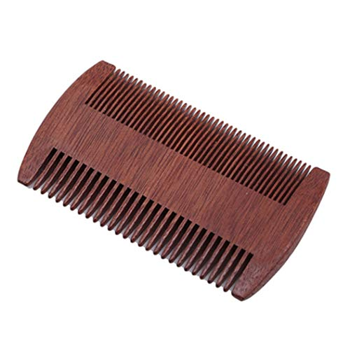 LZIYAN Densities Teeth Wooden Hair Comb Anti-Static Double Tooth Comb Portable Straight Hair Comb For Men And Women by LZIYAN (Image #2)
