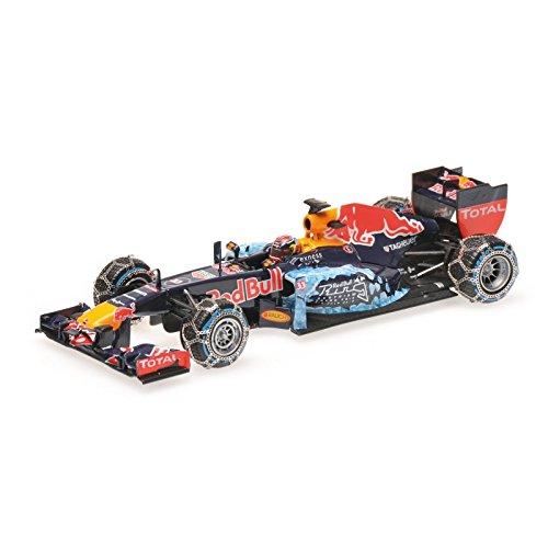 Red Bull RB7, day Heuer, formula 1, 2016, Model Car,, Minichamps - Race Bull Red